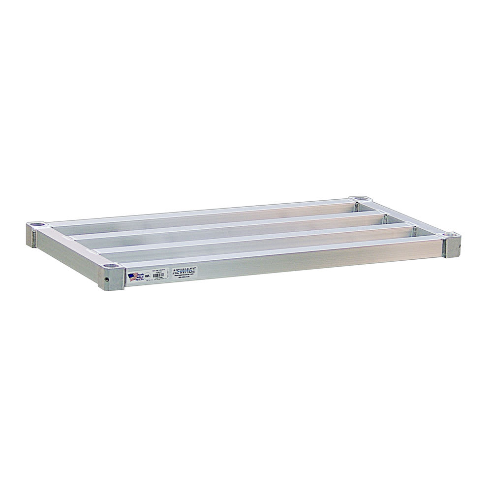 "New Age 1860HD Aluminum Tubular Shelf - 60""W x 18""D"