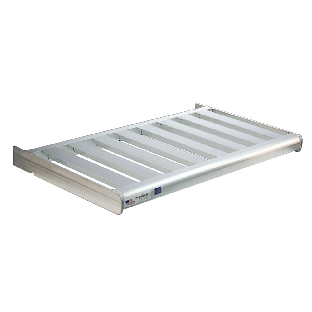 "New Age 2525 60"" Slatted Wall Mounted Shelving"