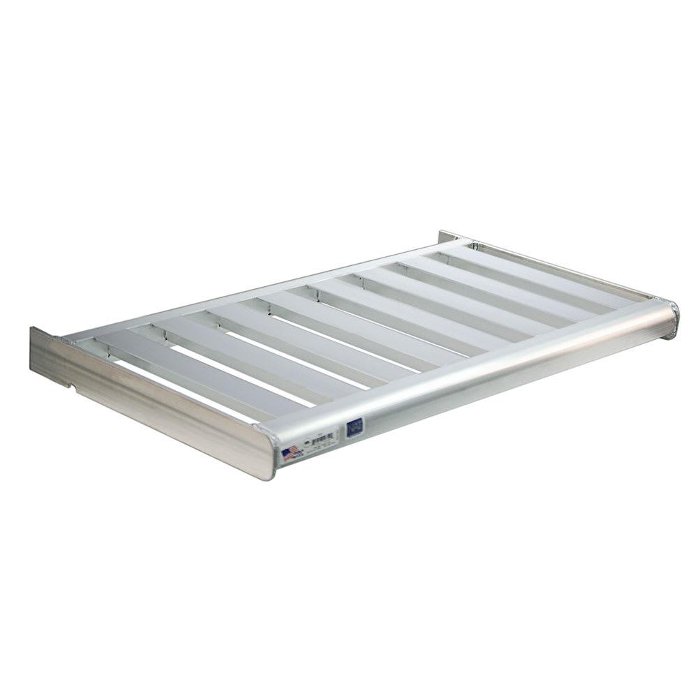 "New Age 2533 T-Bar Wall Mounted Shelf, 48""W x 24""D, Aluminum"