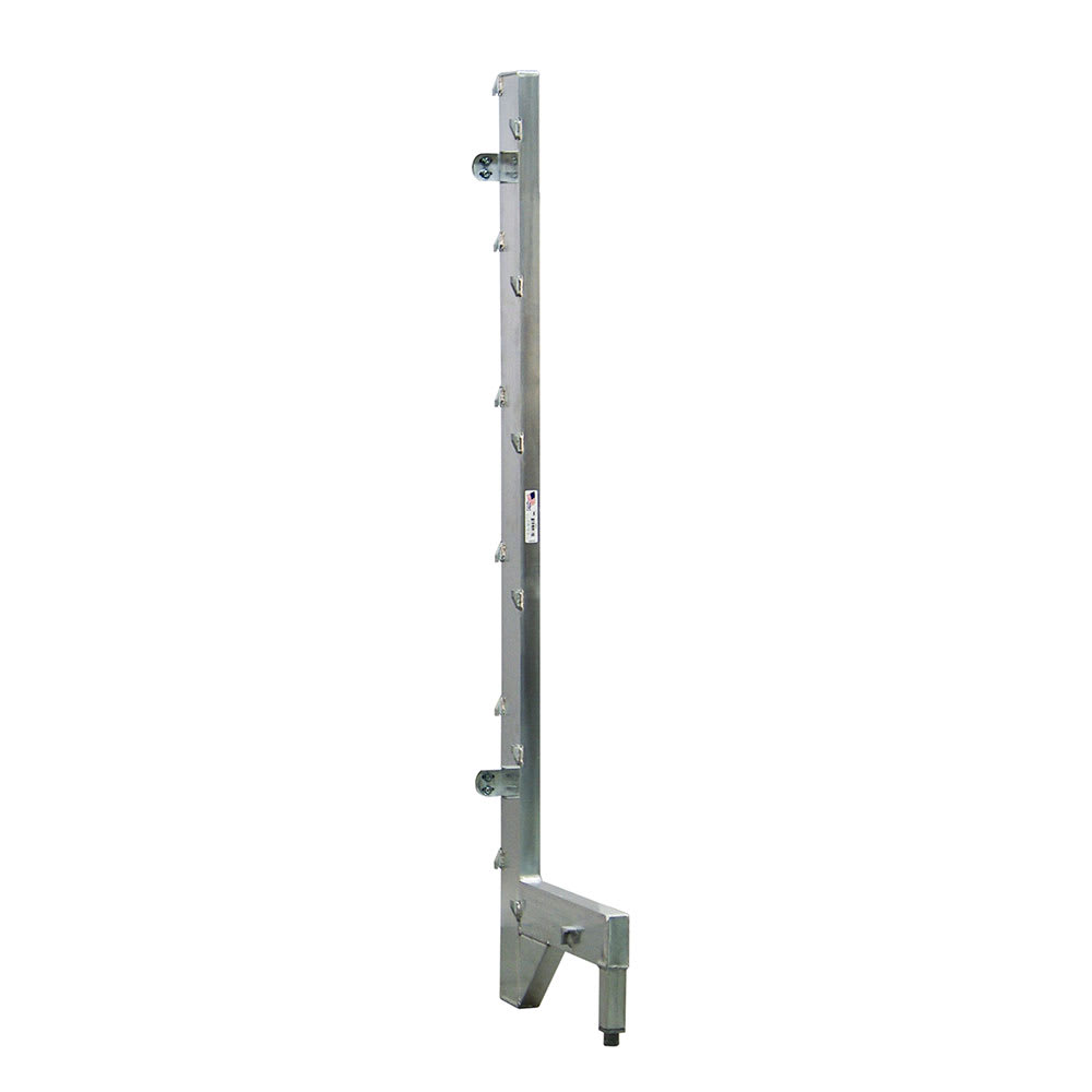 "New Age 2573 27"" Right Upright for 24"" Cantilever Shelving"