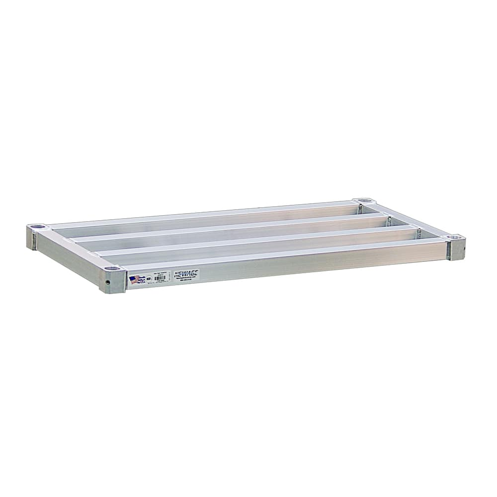 "New Age 3036HD Aluminum Tubular Shelf - 36""W x 30""D"