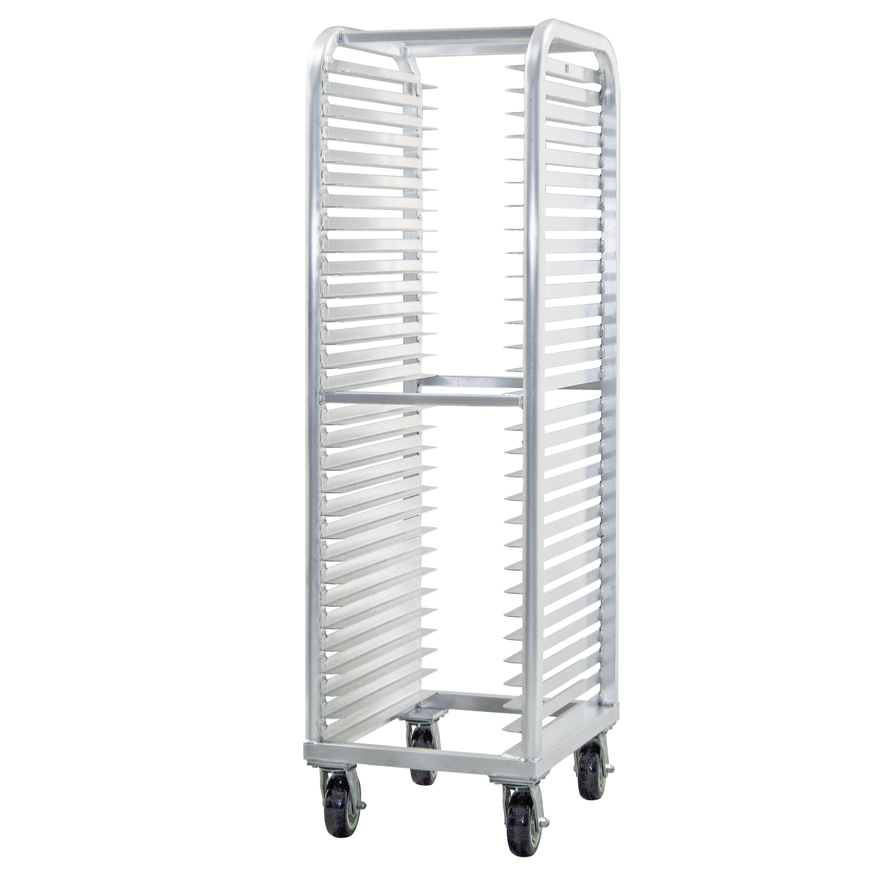 "New Age 4330 21.5""W 30 Bun Pan Rack w/ 2"" Bottom Load Slides"