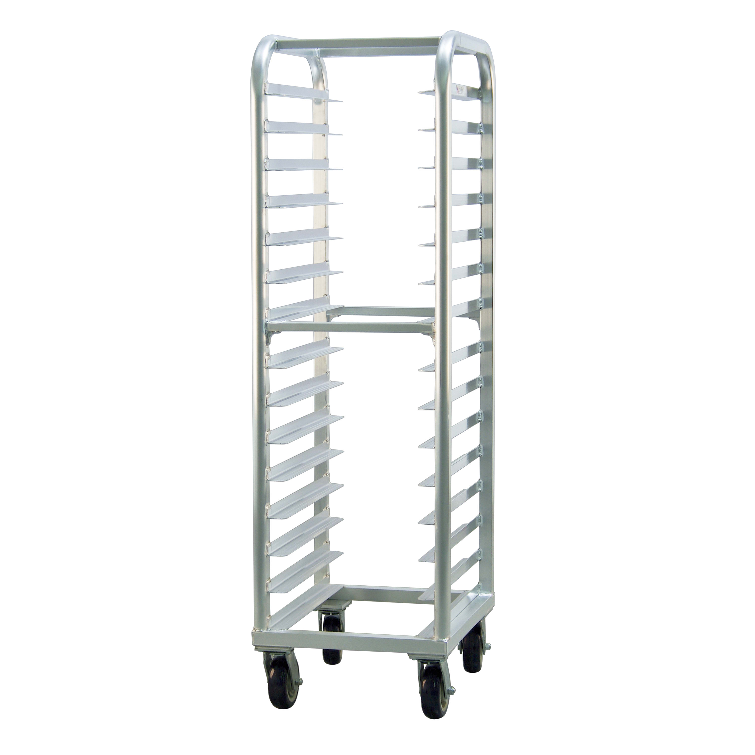 "New Age 4332 21.5""W 15 Bun Pan Rack w/ 4"" Bottom Load Slides"