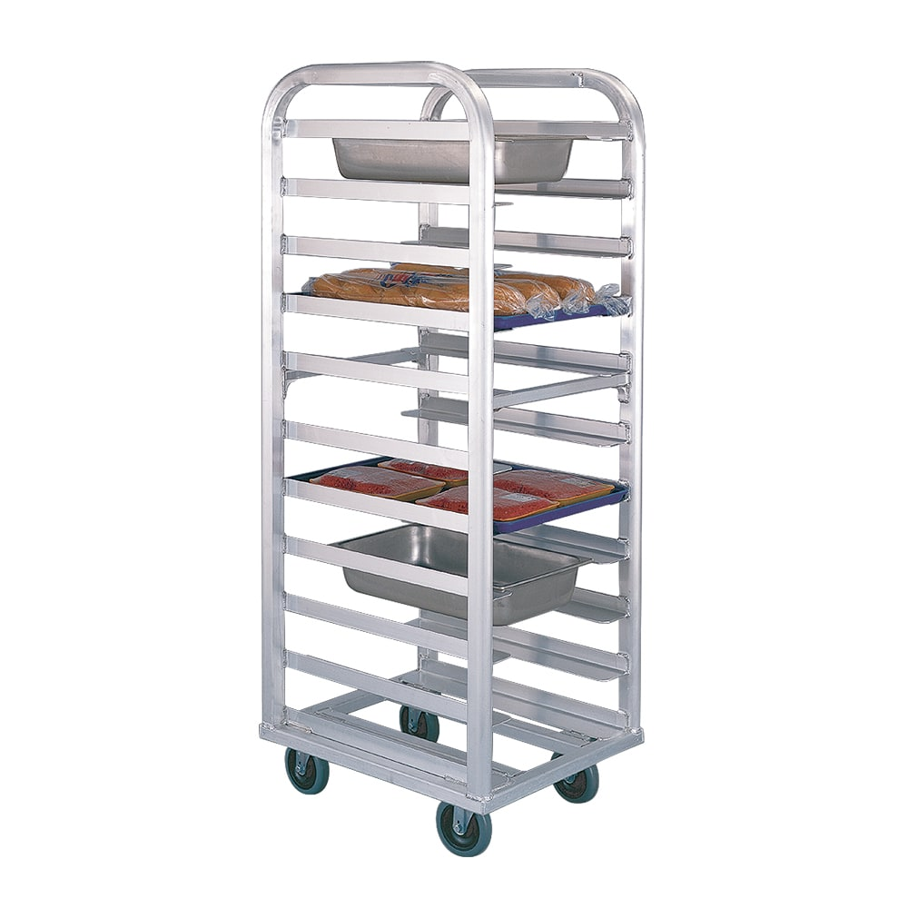 "New Age 4337 21.5""W 11 Bun Pan Rack w/ 5"" Bottom Load Slides"