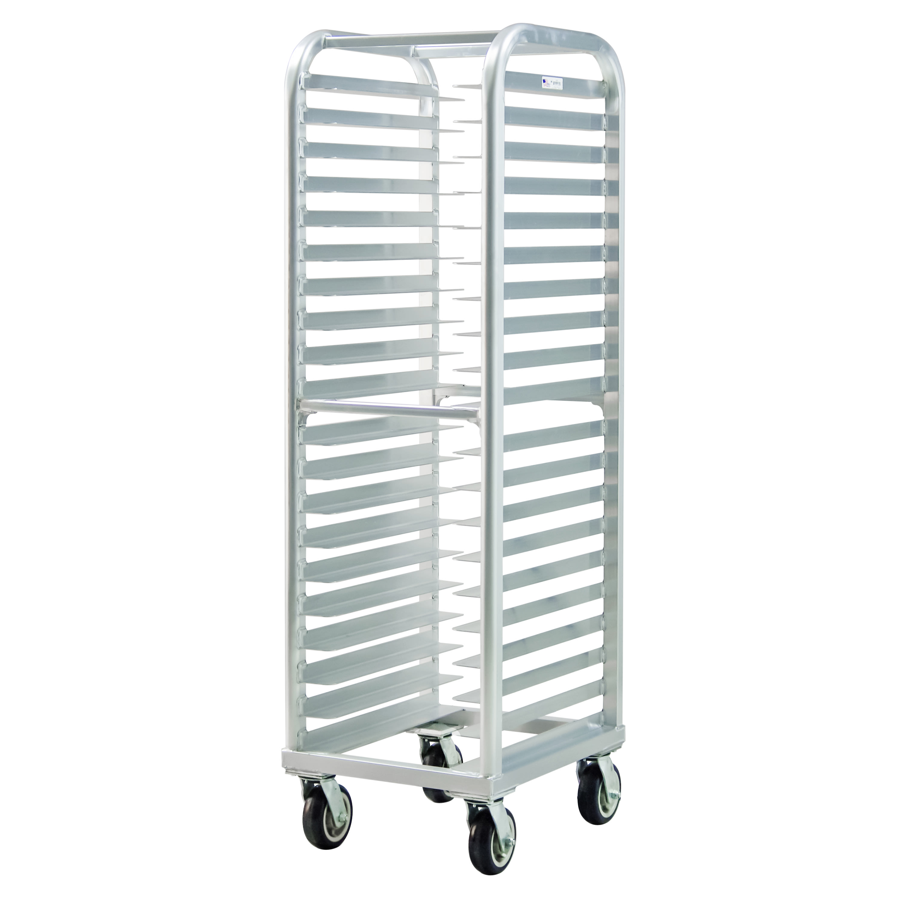 "New Age 4339 21.5""W 20 Bun Pan Rack w/ 3"" Bottom Load Slides"