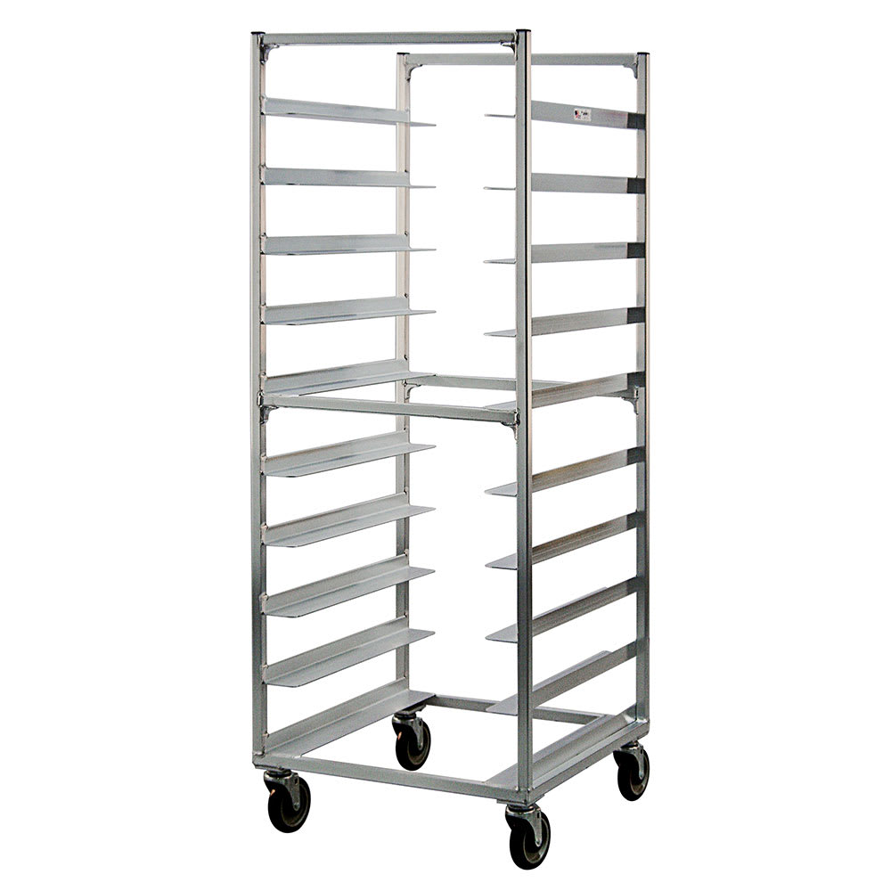 "New Age 95048 26.38""W 10-Specialty Pan Rack w/ 6"" Bottom Load Slides"