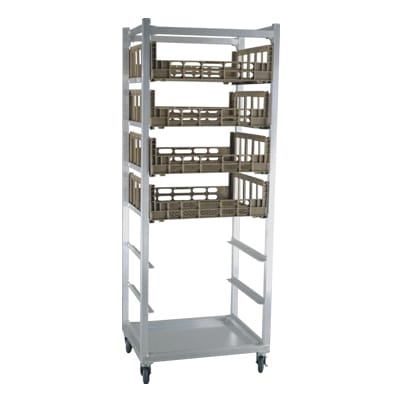 "New Age 95136 26""W 7 Specialty Pan Rack w/ 10.75"" Bottom Load Slides"