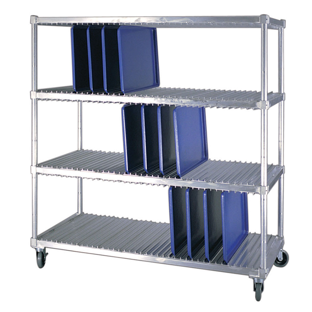 New Age 95333 3 Level Mobile Drying Rack for Trays