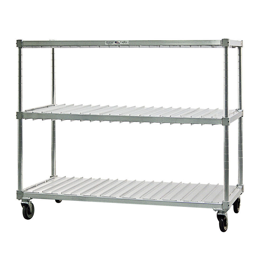 New Age 95413 2 Level Mobile Drying Rack for Trays