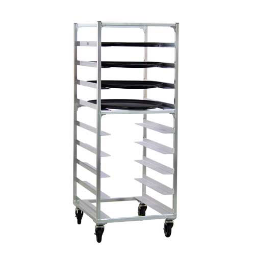 "New Age 95681 24.75""W 9 Specialty Pan Rack w/ 6"" Bottom Load Slides"