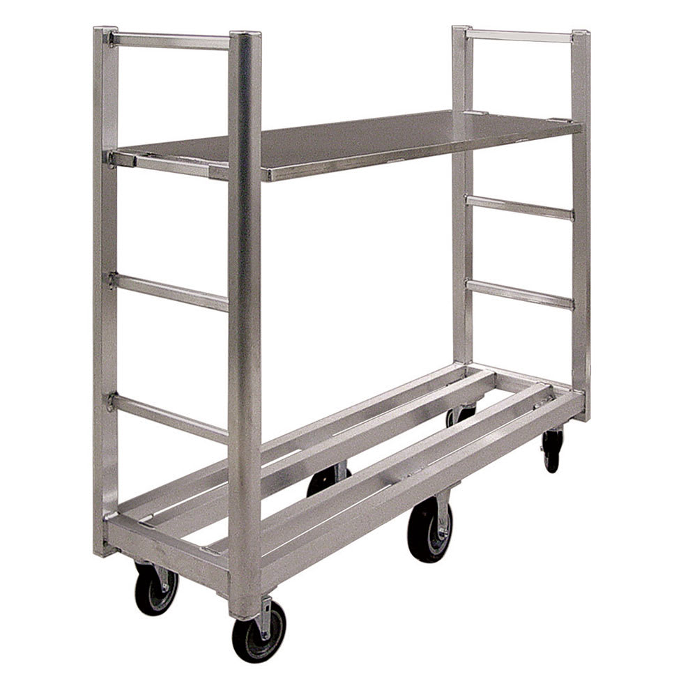 New Age 95762RS Aluminum Shelf - 18x60""