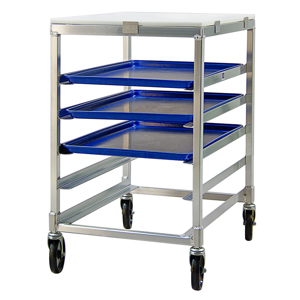 "New Age 95958 20.38""W 5 Bun Pan Rack w/ 4.5"" Bottom Load Slides"