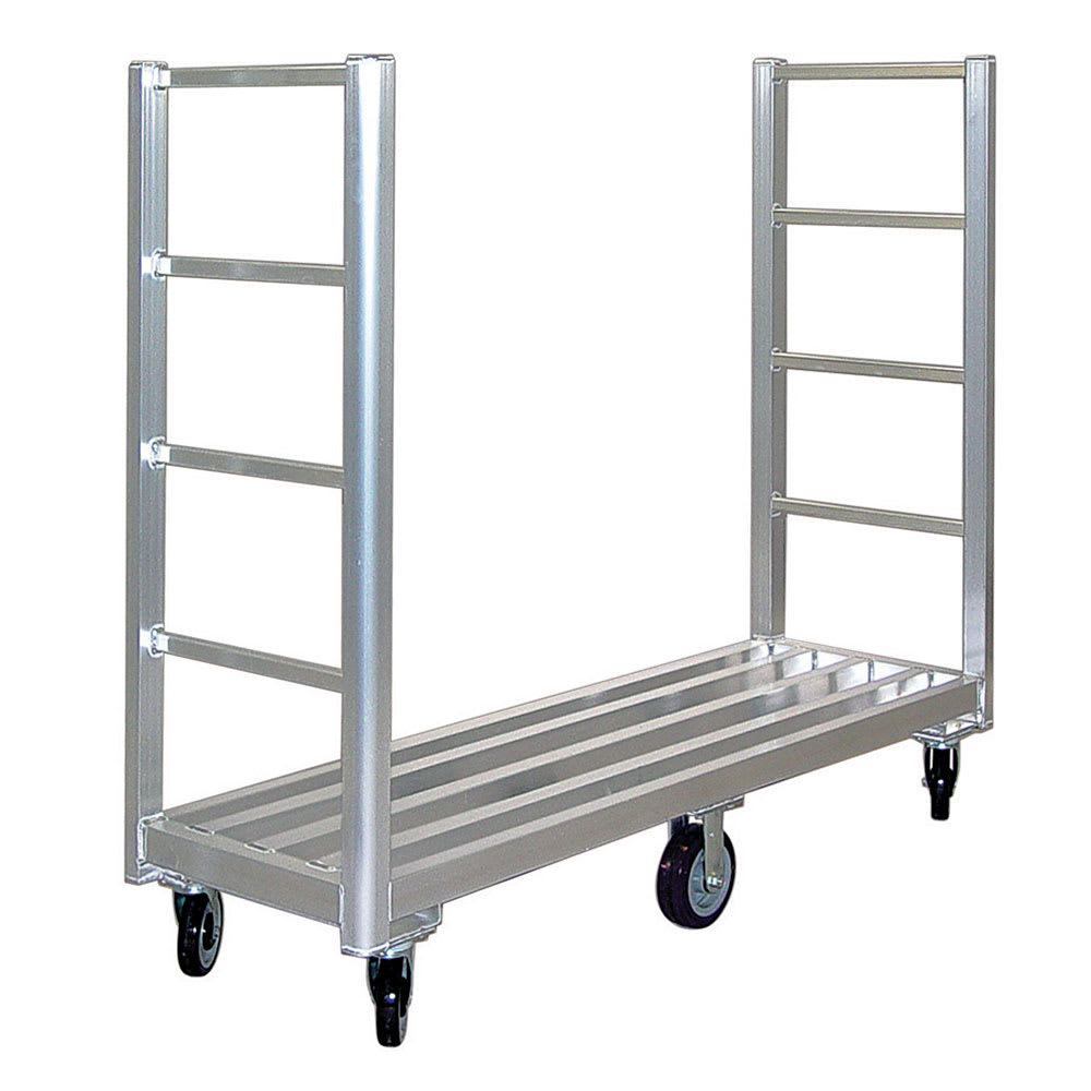 "New Age 96055RS Aluminum Tubular Shelf - 60""W x 18""D"