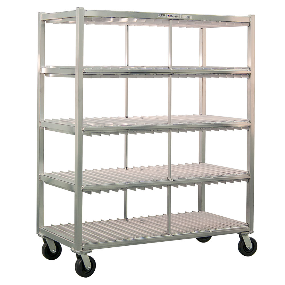 New Age 96705 4 Level Mobile Drying Rack for Trays