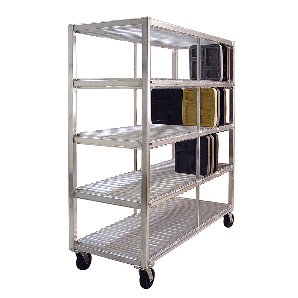 New Age 96707 4 Level Mobile Drying Rack for Trays