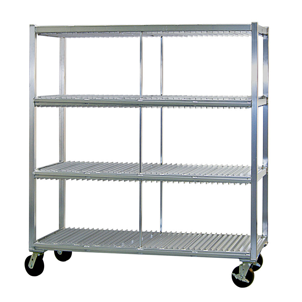 New Age 96708 3 Level Mobile Drying Rack for Trays