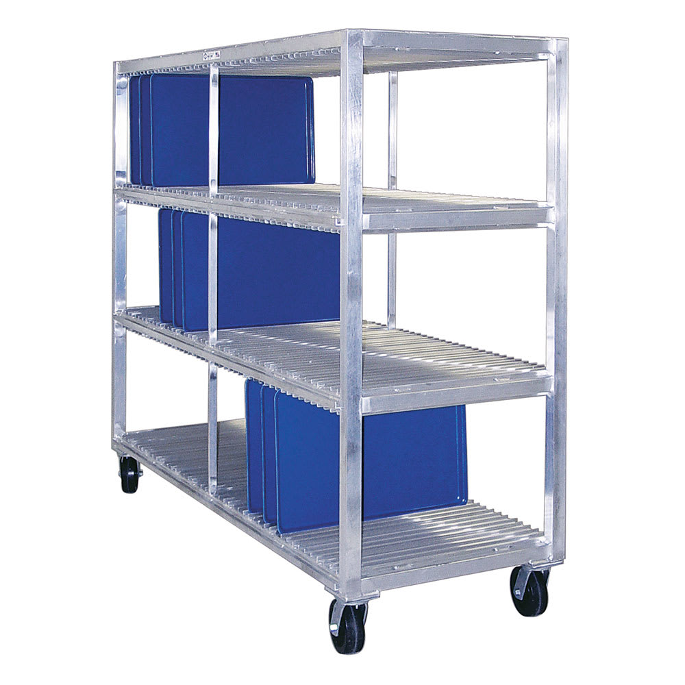 New Age 96710 3 Level Mobile Drying Rack for Trays