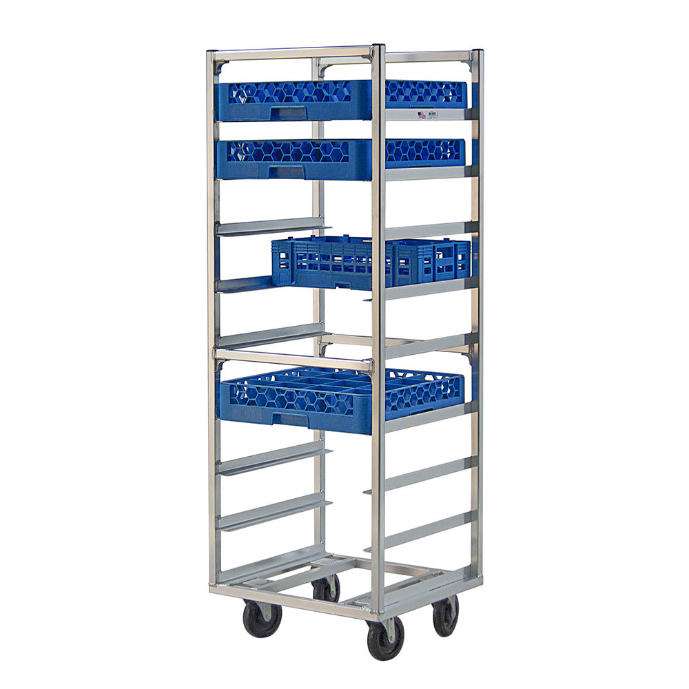 "New Age 97142 22""W 9 Specialty Pan Rack w/ 6"" Bottom Load Slides"