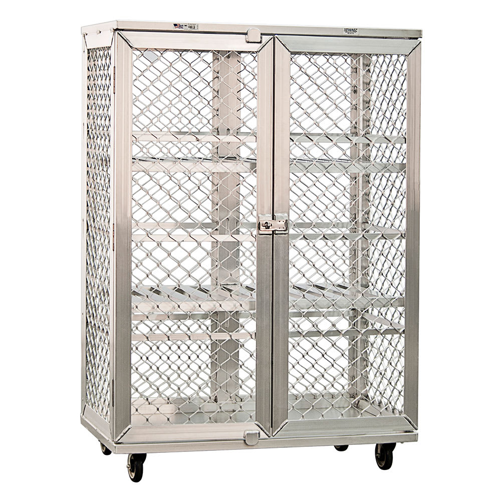 "New Age 97621 49"" Mobile Security Cage, 26.75""D"