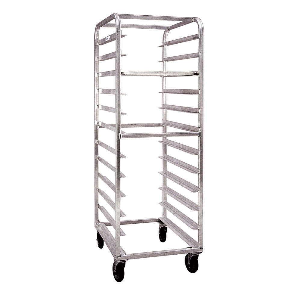 "New Age 97744 22.63""W 24-Specialty Pan Rack w/ 5"" Bottom Load Slides"