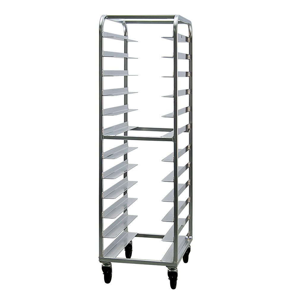 "New Age 97745 20.38""W 24 Specialty Pan Rack w/ 5"" Bottom Load Slides"