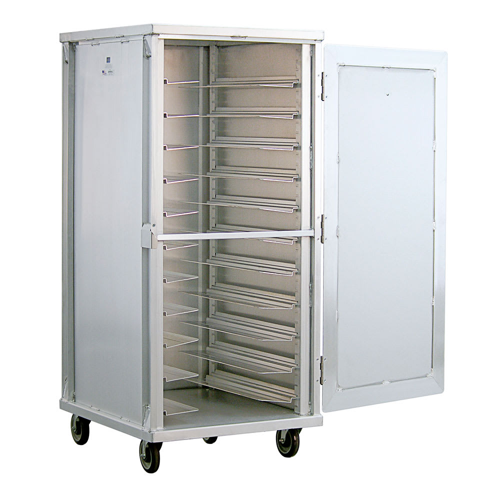 New Age 97746 Full Height Mobile Heated Cabinet w/ (11) Pan Capacity