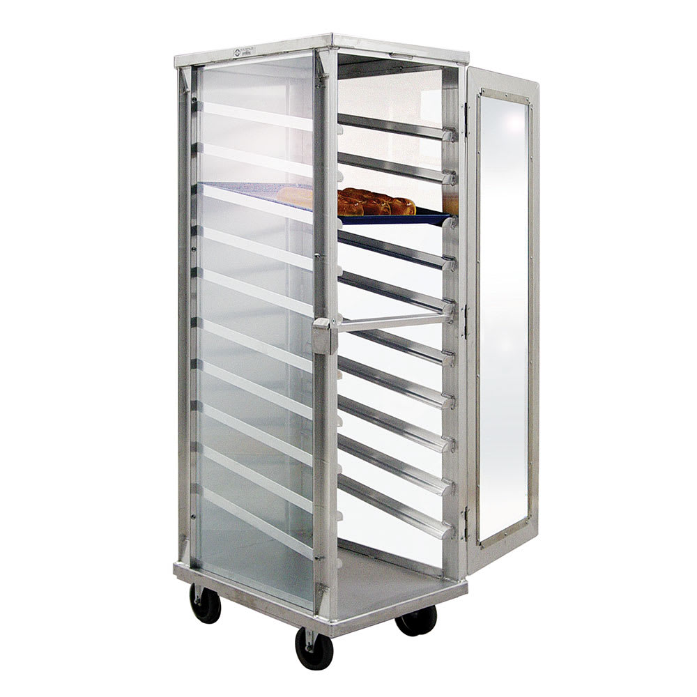 "New Age 98063 20.88""W 10 Sheet Pan Rack w/ 5"" Bottom Load Slides"