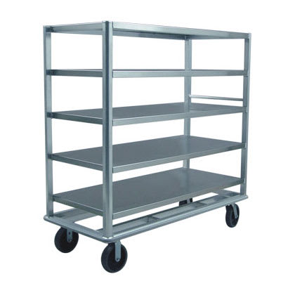 "New Age 98181 78"" Queen Mary Cart w/ 5 Levels, 2500 lb Capacity"