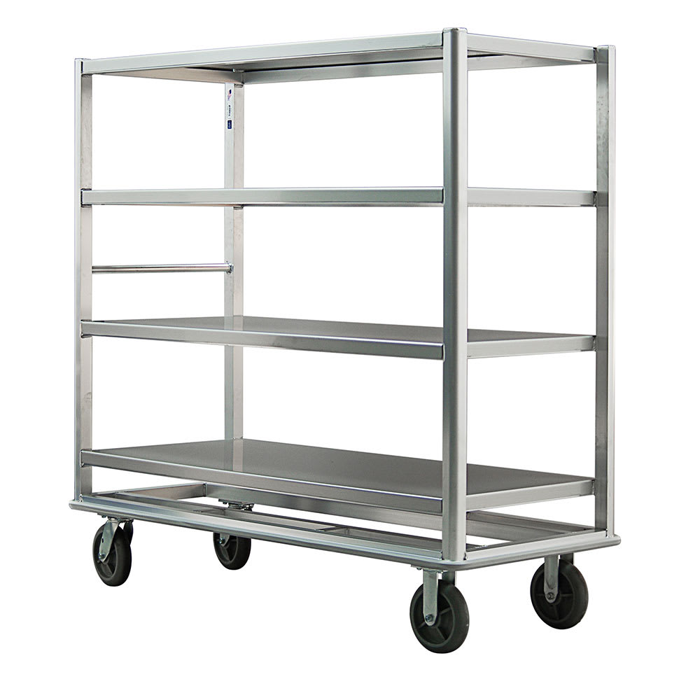 "New Age 98182 65.5"" Queen Mary Cart w/ 4 Levels, 2500 lb Capacity"