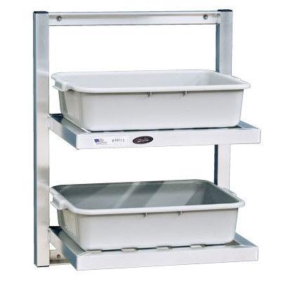 "New Age 98213 T-Bar Wall Mounted Shelf, 48""W x 16""D, Aluminum"