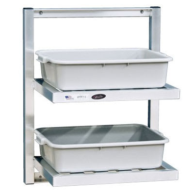 "New Age 98301 T-Bar Wall Mounted Shelf, 26""W x 16""D, Aluminum"