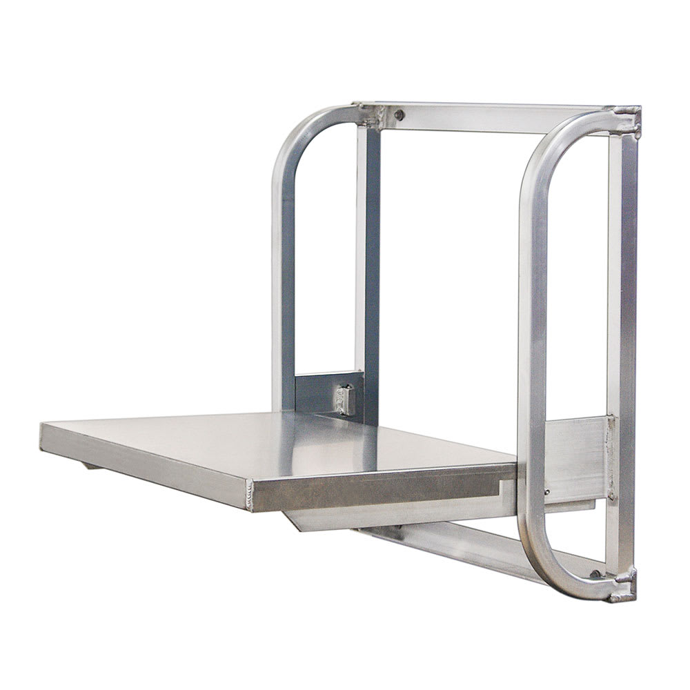 """New Age 98671 24"""" Wall Mounted Work Table - 20.5""""D, Fold-Up"""