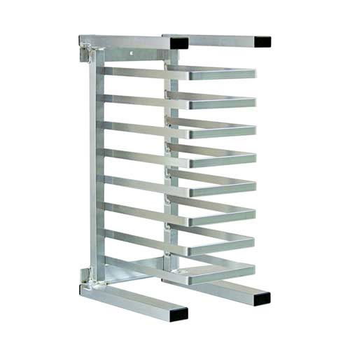 "New Age 99309 20.38""W 20 Pizza Pan Rack w/ 2.375"" Bottom Load Slides"