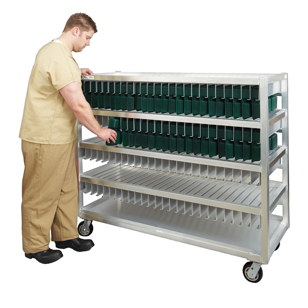 New Age 99452 4 Level Mobile Drying Rack for Trays