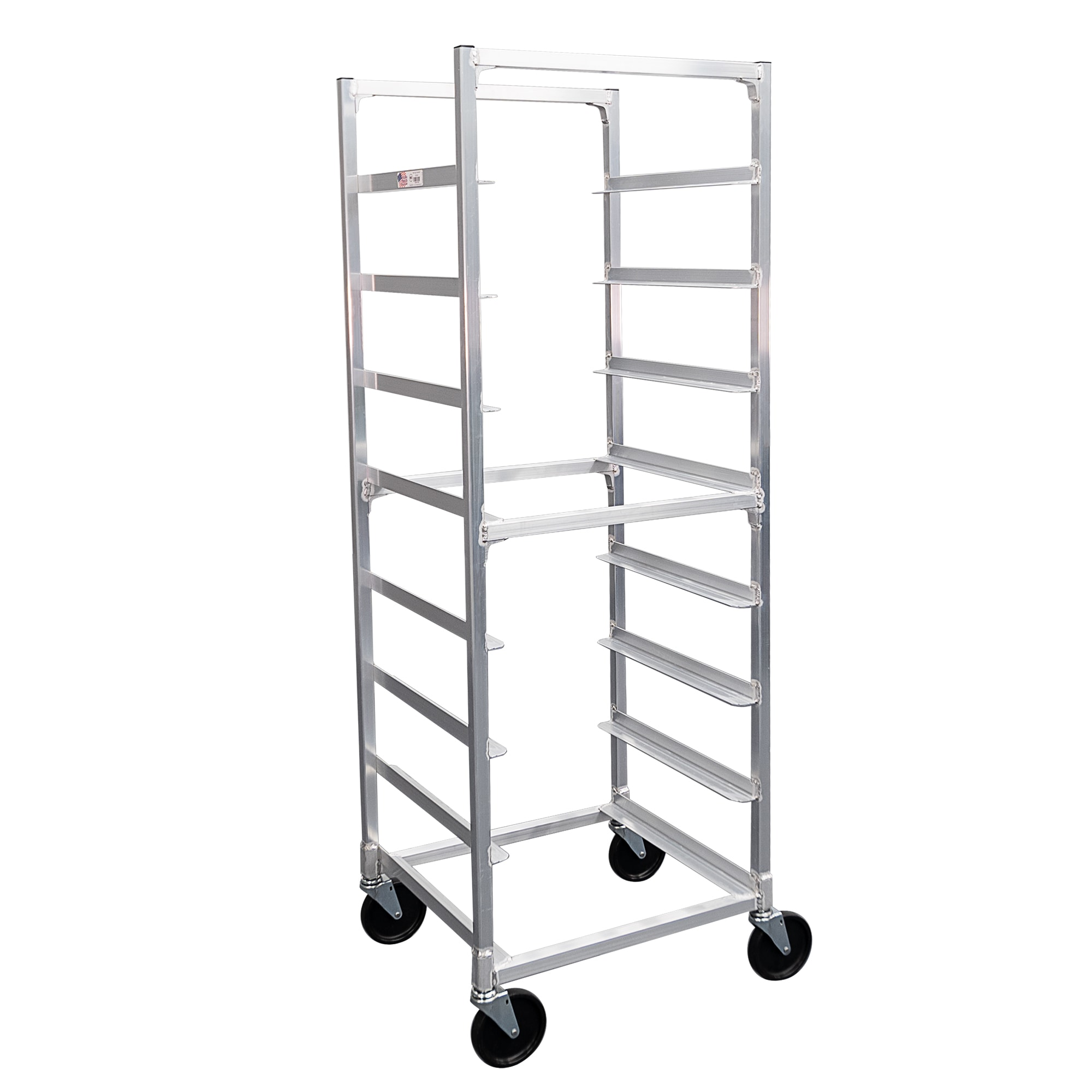 "New Age NS345 22""W 8 Specialty Pan Rack w/ 7"" Bottom Load Slides"