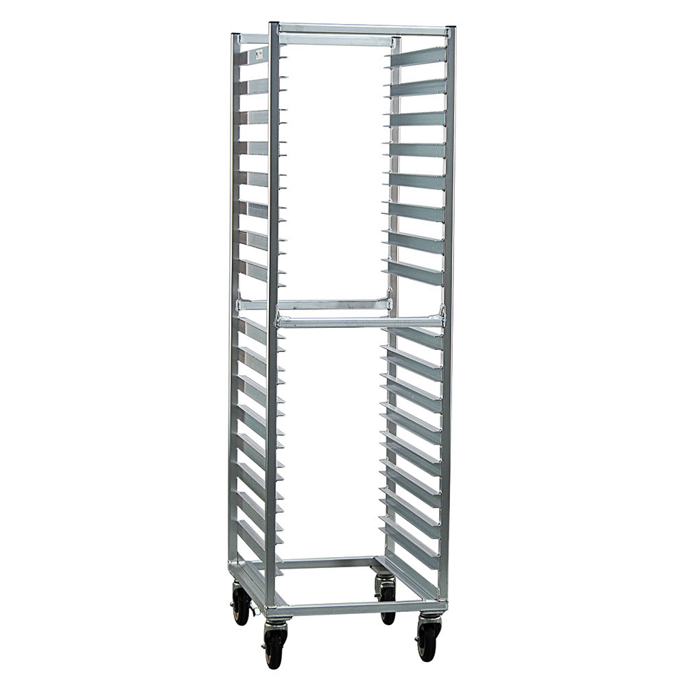 "New Age NS648 21""W 16 Specialty Pan Rack w/ 3.5"" Bottom Load Slides"