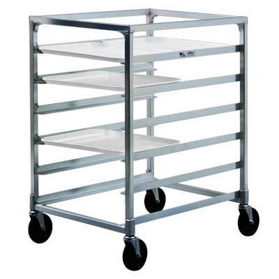 "New Age NS834 23.13""W 12 Specialty Pan Rack w/ 5"" Bottom Load Slides"