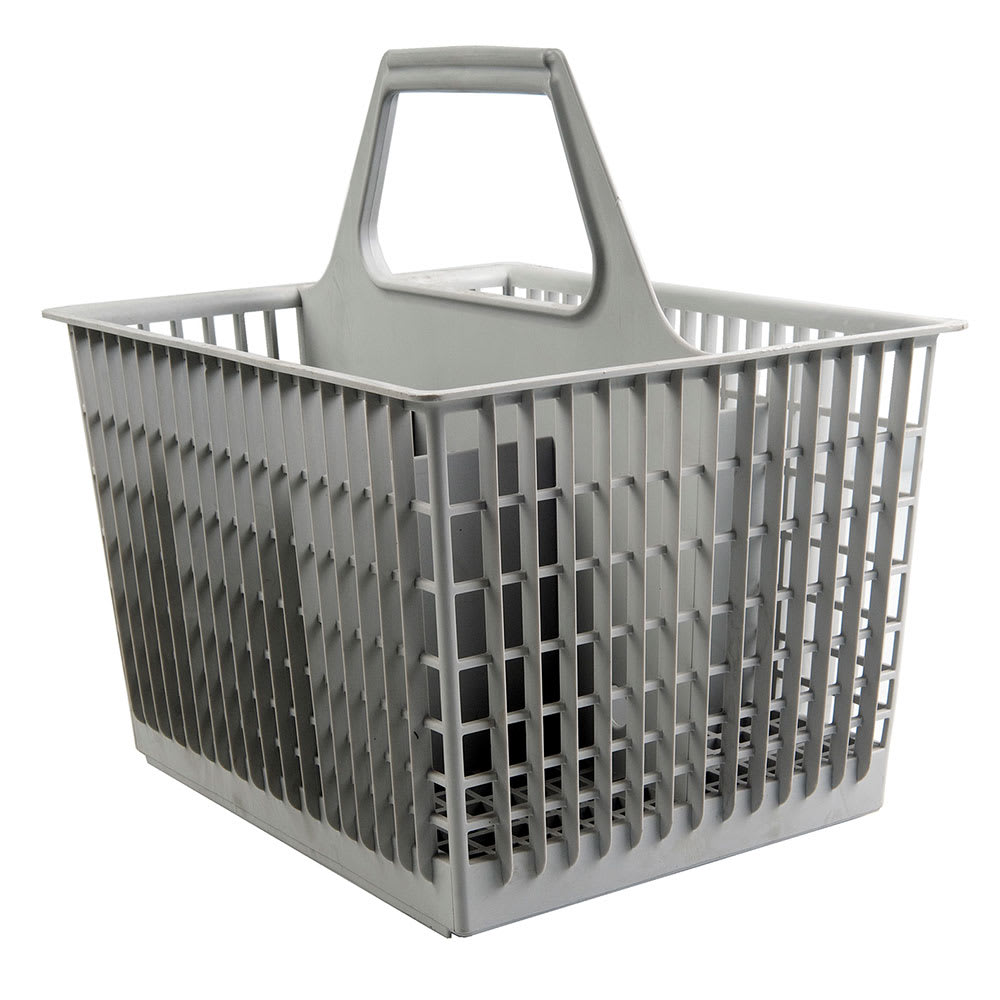 Jackson 07320-100-08-01 6 Compartment Flatware Basket for Model 10 - Plastic, Gray