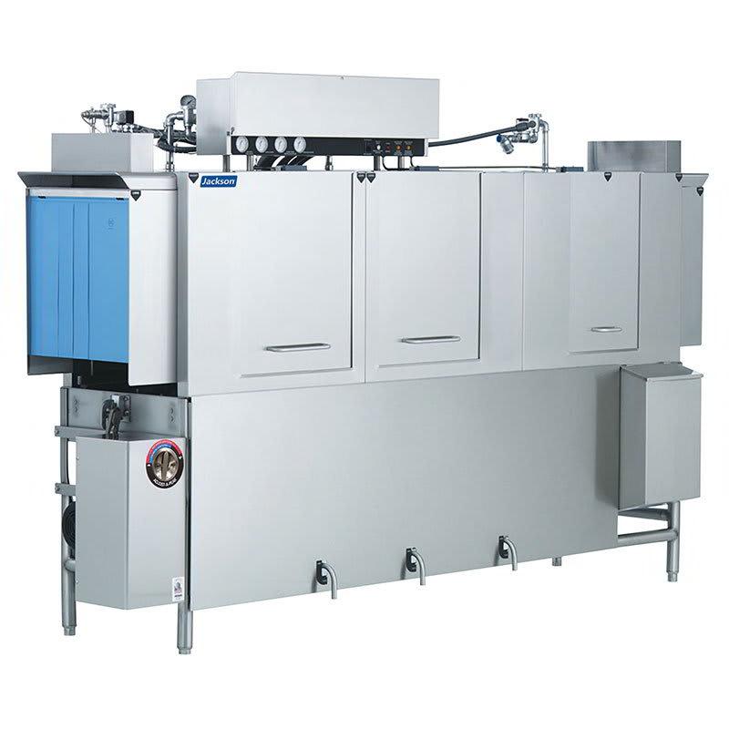 "Jackson AJ-100CGP 78"" High Temp Conveyor Dishwasher w/ Booster Heater, 208v/1ph"