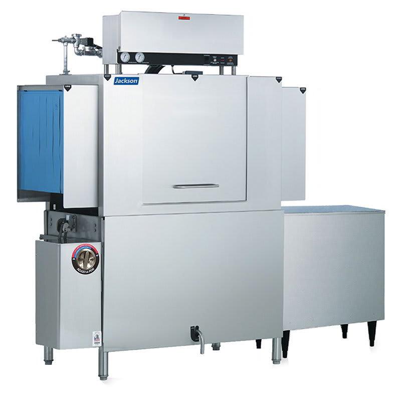 "Jackson AJ-44CGP 60"" High Temp Conveyor Dishwasher w/ Booster Heater, 208v/1ph"