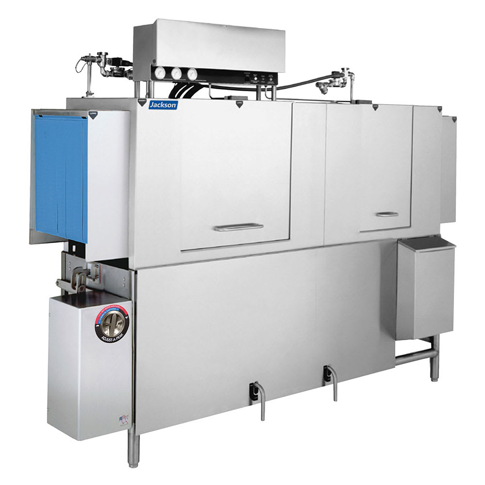 "Jackson AJ-80CGP 96"" High Temp Conveyor Dishwasher w/ Booster Heater, 208v/3ph"