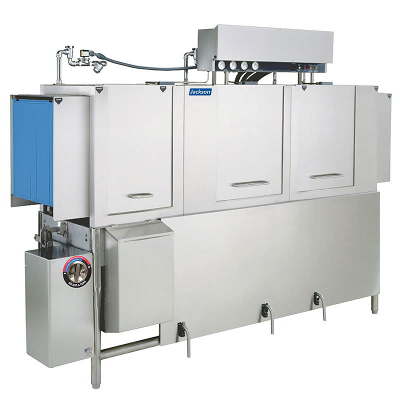 "Jackson AJ-86CGP 78"" High Temp Conveyor Dishwasher w/ Booster Heater, LP"