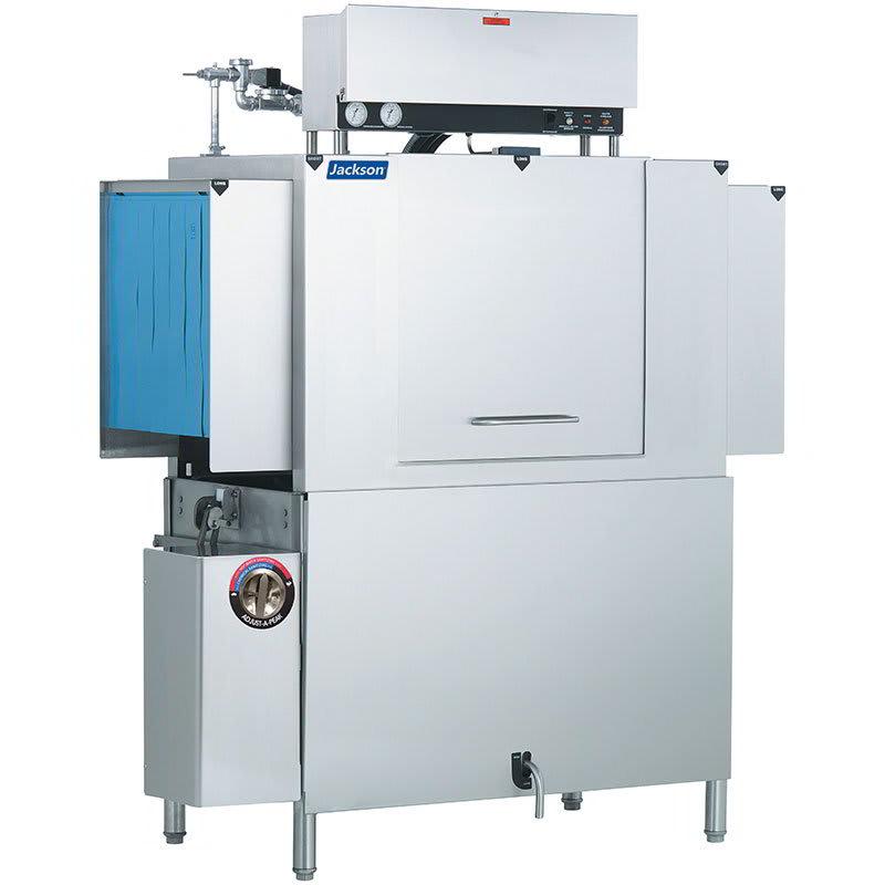 "Jackson AJX-54CS 86"" High Temp Conveyor Dishwasher w/ Steam Tank Heat, 208v/1ph"