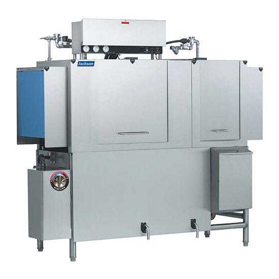 "Jackson AJX-66CE 78"" High Temp Conveyor Dishwasher w/ Electric Tank Heat, 208v/3ph"