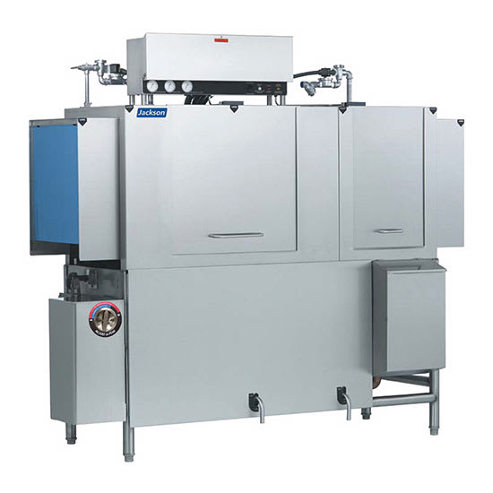 "Jackson AJX-66CS 78"" High Temp Conveyor Dishwasher w/ Steam Tank Heat, 208v/3ph"