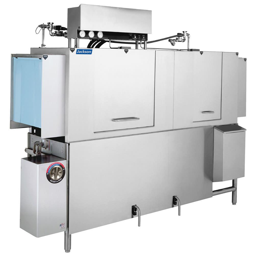 "Jackson AJX-76 76"" High Temp Conveyor Dishwasher w/ Electric Heater, 225 Racks/Hr Capacity"
