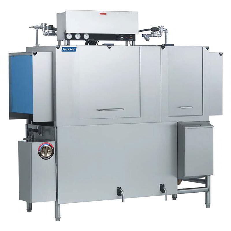 "Jackson AJX-76CE 78"" High Temp Conveyor Dishwasher w/ Electric Tank Heat, 208v/1ph"