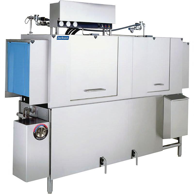 "Jackson AJX-80CS 78"" High Temp Conveyor Dishwasher w/ Steam Tank Heat, 230v/1ph"