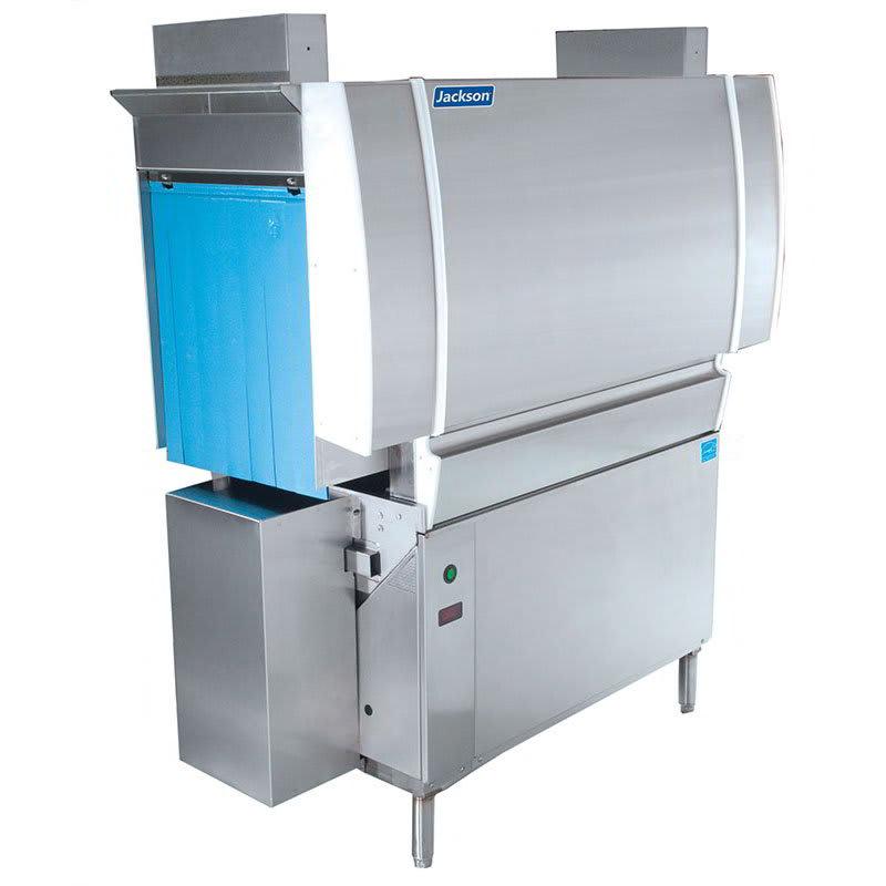"Jackson CREW-44CEL 64"" Low Temp Conveyor Dishwasher w/ Electric Tank Heat, 208v/1ph"