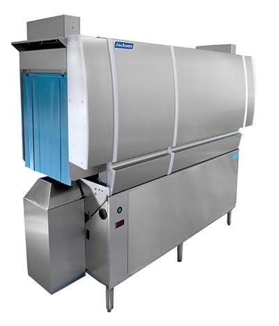 "Jackson CREW-66CS 97"" High Temp Conveyor Dishwasher w/ Steam Tank Heat, 208v/1ph"